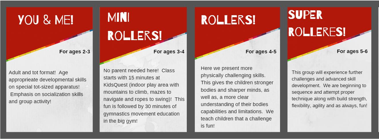 PS Class Descriptions
